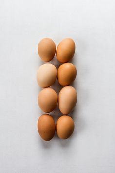 Free range, organic eggs.