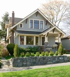 cute carriage style house