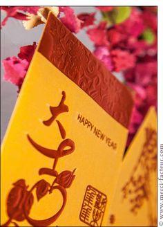 #carte #nouvelan #chinois #chine #signe #singe Carte Le nouvel an chinois sur une carte pour envoyer par La Poste, sur Merci-Facteur !