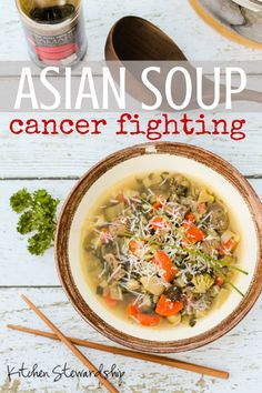 Cancer Fighting Vegetable Soup with an Asian Twist