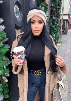 """Holi-day Date ⠀ Search: """"Melanie Mock Neck Bodysuit"""" ⠀ Search: """"Make Some Nois. Casual Fall Outfits, Winter Fashion Outfits, Fall Winter Outfits, Classy Outfits, Autumn Winter Fashion, Stylish Outfits, Trendy Fashion, Fashion Tips, Winter Looks"""