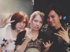 #HYDE #VAMPS, DAIGO(BREAKERZ), yasu(Acid Black Cherry) | #2016