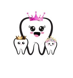 Dentist Cartoon, Tooth Cartoon, Teeth Drawing, Cute Tooth, Dental Logo, First Tooth, Dental Hygienist, Cricut Tutorials, Art Drawings Sketches