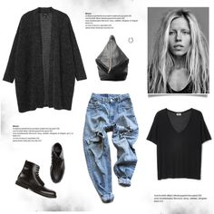 Casual by bellamarie on Polyvore featuring мода, Monki, Levi's, Common Projects and Vita Fede