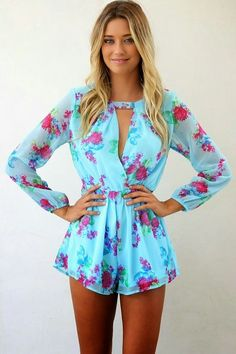 Saboskirt Aster Playsuit. #play #suit
