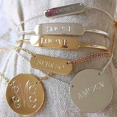 Hands up who wants them all! #bespokebysd #stelladotstyle #fashion #jewellery #accessories #necklace #gold #silver #statement #personalised #bespoke #engraved #personalisedjewellery #jewelry #dainty #daintyjewellery #delicate #delicatejewellery
