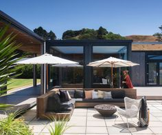 Inside Alex and Corban's stylish Whananaki holiday home