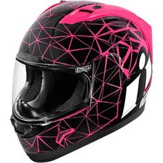ICON - Women's Alliance Crysmatic Full-Face Motorcycle Helmet - Full-Face - Helmets - Street - Cycle Gear