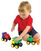 Kidoozie Little Tuffies Trucks:Amazon:Toys & Games