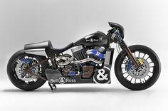 Harley-Davidson and Bell & Ross - Nascafe Racer