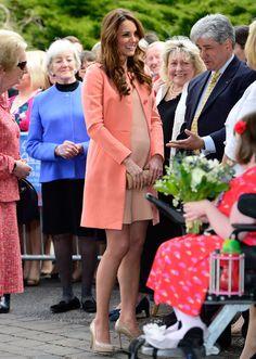 Kate Middleton's pregnancy fashion