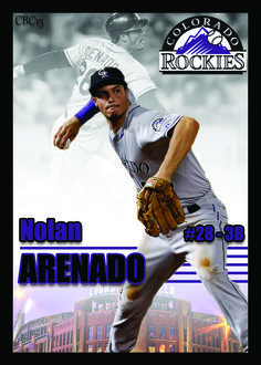 Nolan Arenado Mlb Players, Baseball Players, Rockies Baseball, Mlb Teams, Colorado Rockies, Spring Training, Ml B, National League, World Series