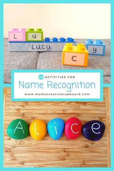 Preschool Name Recognition Activities for Preschool Learning at Home