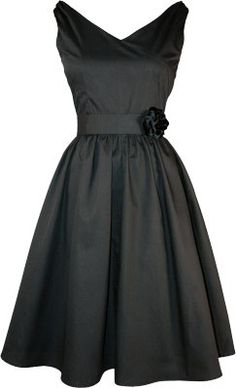 love dresses from the 50's - this would look pretty in white too!!!