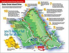 Oahu Honolulu and Waikiki, the award-winning Oahu guidebook and Honolulu guidebook Oahu Map, Hawaii Activities, Oahu Vacation, Vacation Ideas, Visit Hawaii, Hawaii Hawaii, Map Of Hawaii, Hawaii Hikes, Honeymoons