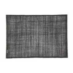 Natural linnen placemat in black from Dixie