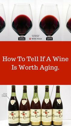 Is My Wine Worth Aging?