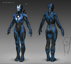 Iron Girl concept by Iron Man Suit, Iron Man Armor, Armor Concept, Concept Art, Iron Man Girl, Marvel Universe, Dungeons And Dragons, Character Art, Character Design