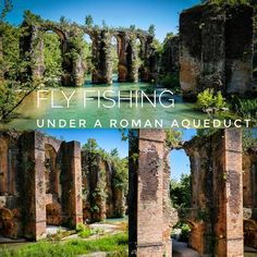 Fly fising under a Roman aqueduct, Epirus, Greece.  #outdoors #bestoftheday #incredible #cool #fish #fishing #antique #freshwater #instagood #nature #picoftheday #river #outdoors #seas #sport #bassfishing #trip #flugfiske #wildlife #instago #fliegenfischen #flyfishing #greece #flyreel #rainbow #catch #museum #trout #pesca #history