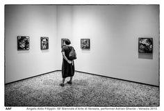 https://flic.kr/p/FqcsTT | 56' Biennale d'Arte di Venezia, performer Adrian Ghenie - Venezia 2015