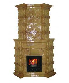 Soba clasica, SAXONE OCRU Woodburning, Stoves, Industrial Design, Fancy, Vintage, Home Decor, Decoration Home, Industrial By Design, Room Decor