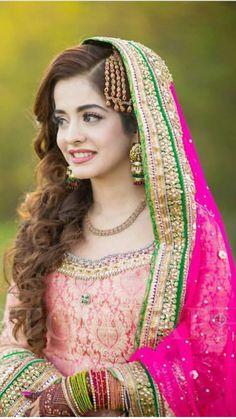 Pakistani Wedding Outfits, Pakistani Wedding Dresses, Bridal Wedding Dresses, Bridal Style, Bride Dresses, Pakistan Bridal, Mehndi Dress, Indian Bridal Fashion, Bridal Lehenga