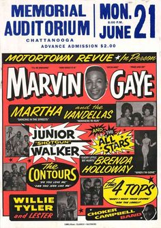 Marvin Gaye - Motortown Revue - Mini Print