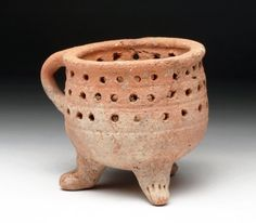 Ancient Amlash Terracotta Strainer Vessel Near East, modern-day Iran, ca. 2nd to 1st millennium BCE