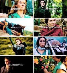Game of Thrones women.