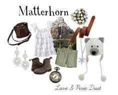 Disney inspired fashion... so creative! #matterhorn #disney