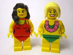 The Brick Brown Fox: Lego Minifigures Series 3 - Hula Dancer
