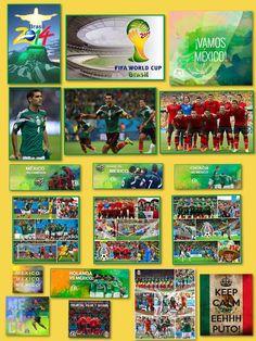 Mundial de Fútbol BRASIL 2014! Emociones desbordadas y un cúmulo de esperanzas que aunque rotas vuelven a renacer, vamos México!!! 29/06/14