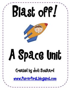 This Space Unit includes a variety of activities to teach about the Solar System to your young elementary students. It includes fact sheets about . Science Classroom, Teaching Science, Science Activities, Classroom Ideas, Space Activities, Teaching Ideas, Preschool Ideas, Science Fun, Therapy Activities
