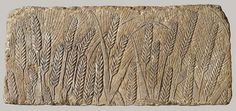 Beautifully detailed relief of a field of Barley.Amarna,18th Dynasty