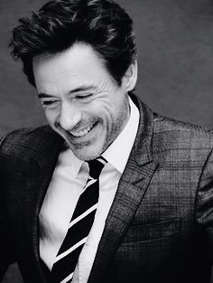 Robert Downey Jr. (Iron Man // Sherlock) now he is on hunk of a man whooo!!!!!!!!!