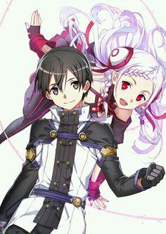 Kirito and Yuna