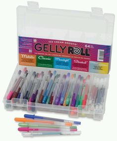 Ahh! Gelly Roll pen set! ALL OF THEM!!! This would make a great gift for Dee.