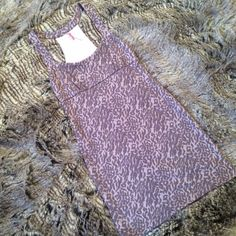 "Free People light purple dress This Free People dress has a raised animal print design, light purple and nude background coloring. L:33.5"", B:15"", W:13.5"". Very stretchy. Free People Dresses Mini"