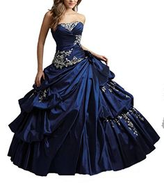 Wenli Women Strapless Tiered Taffeta Ball Gowns Juniors P... https://www.amazon.com/dp/B01FAECXIC/ref=cm_sw_r_pi_dp_x_zVsFybH0BSW2D