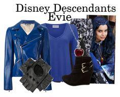 """Disney Descendants: Evie"" by murphylovesturtles ❤ liked on Polyvore"