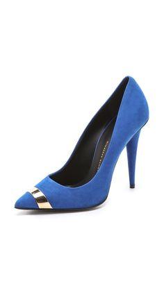 giuseppe zanotti blue stiletto pump 2015