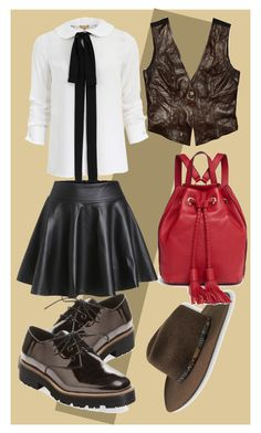 Designer Clothes, Shoes & Bags for Women Rebecca Minkoff, Michael Kors, Colours, Shoe Bag, Brown, Polyvore, Leather, Stuff To Buy, Shopping