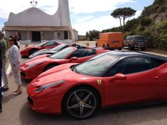 Ferrari che spettacolo!