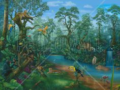 Its a Jungle Out There - Wall Mural & Photo Wallpaper - Photowall