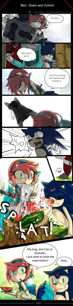 Red , Green and Yummi! by sonamy-25 on DeviantArt