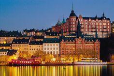 Wie im Märchen: Stockholm im Lichtermeer