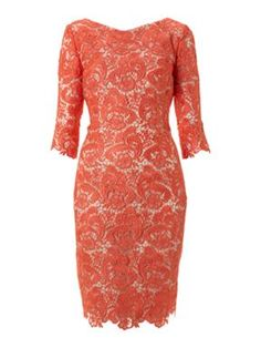 Coral | Lace | Mother of the Bride