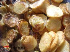 Chips to chips. Se amate il fritto...Golosità da gustare così...anche solo per gradire. Piacevole passatempo televisivo, magari con un leggero film comico.