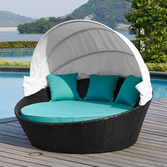 You'll love the Ryde Daybed with Cushion at Wayfair - Great Deals on all Outdoor  products with Free Shipping on most stuff, even the big stuff.