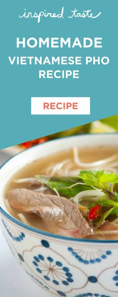 Making your own Vietnamese pho soup at home is not hard, all you need is a straightforward recipe, a few secrets and a nice big stockpot. #soup